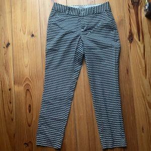 Banana Republic patterned pants